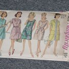 Simplicity 7025 Vintage Pattern A-line Dress Variation Necklines Size 16 No. 247