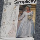 Simplicity 8009 Uncut Wedding Gown Bridal Gown Wedding Dress Size GG 26W-32W  No. 250