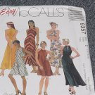 9357 McCalls Dress Bias Dress Two Lengths Size E 14, 16, 18 Uncut   No. 250