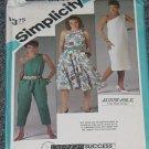 Simplicity 6493 Simplicity Dress Jumpsuit Size 8, 10, 12 No. 250