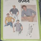 Simplicity Pattern 8944 Mens Shirts Size 14 Ucut  No 250