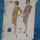 McCall's Pattern 7423  Easy Dress size 14-16 Uncut  No 250