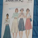 Butterick Pattern 4139  Ucut Misses' Skirt Waist 28 No 250