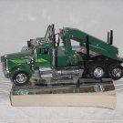 Kenworth model truck Green Small Crane