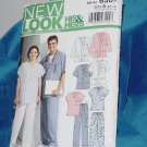 New Look Simplicity Pattern 6307 Unisex uniforms Size A xs-xl No. 251