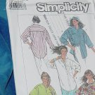 Simplicity Pattern 7901 Shirt Blouse Size NN 10-16 No. 250