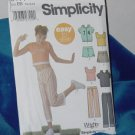 Simplicity Pattern 5177 Girls Pants Shorts Skort Jacket Knit Top Size BB No. 250