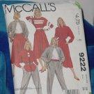 9222 McCalls Misses Shirt Top Skirt Pants Sizee E 12 Uncut   No. 250