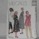 McCall's Maternity Dresses Tops Pull-On Pants Capri Pants 8342 Size 14 16 18 No. 253