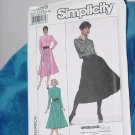 Simplicity 9356 Long Sleeved Dress Knits Only Size 12-18   No. 253