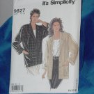 Simplicity 9827 Unlined Jacket size 10-20 No. 253