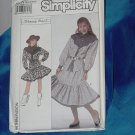 Simplicity 9313  Pull on Skirt Ruffled Skirt Top Western Look No. 253
