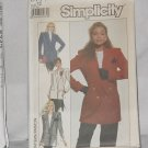 Simplicity 8777  Misses' Lined Blazers Size 12 No. dec 3