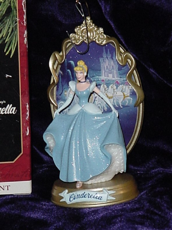 Hallmark Keepsake Ornament Cinderella in Box  No. 354