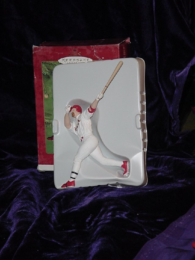 Hallmark Keepsake Ornament Mark McGwire with Box  No. 354