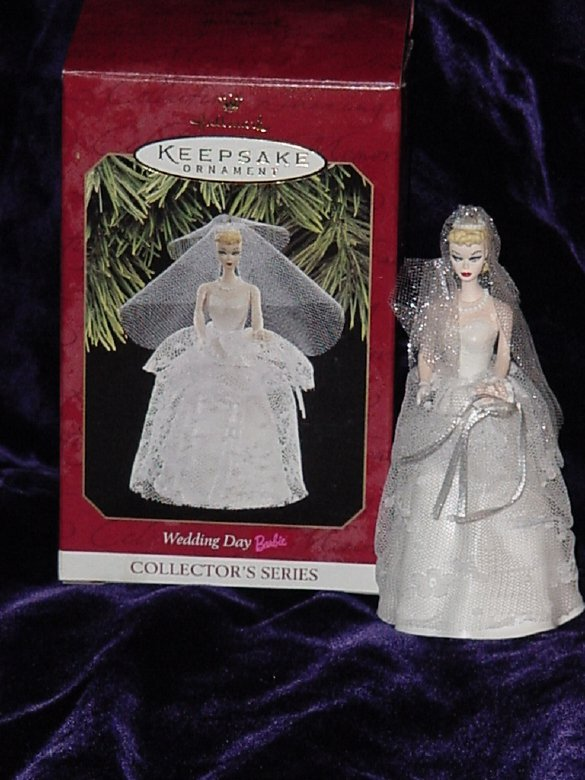 Hallmark Keepsake Ornament Wedding Day Barbie with Box  No. 354