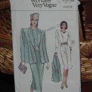Very Easy Very Vogue 1980's - Vogue Pattern 9970 Uncut Sizes 14-16-18  Dec