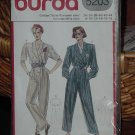 5203 Burda Jumpsuit One Piece Pants size 8-18  Dec