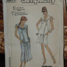 Simplicity 8682  Misses' Shift Dress Two Lengths Stretch Knits Only Size 16-20  dec  3