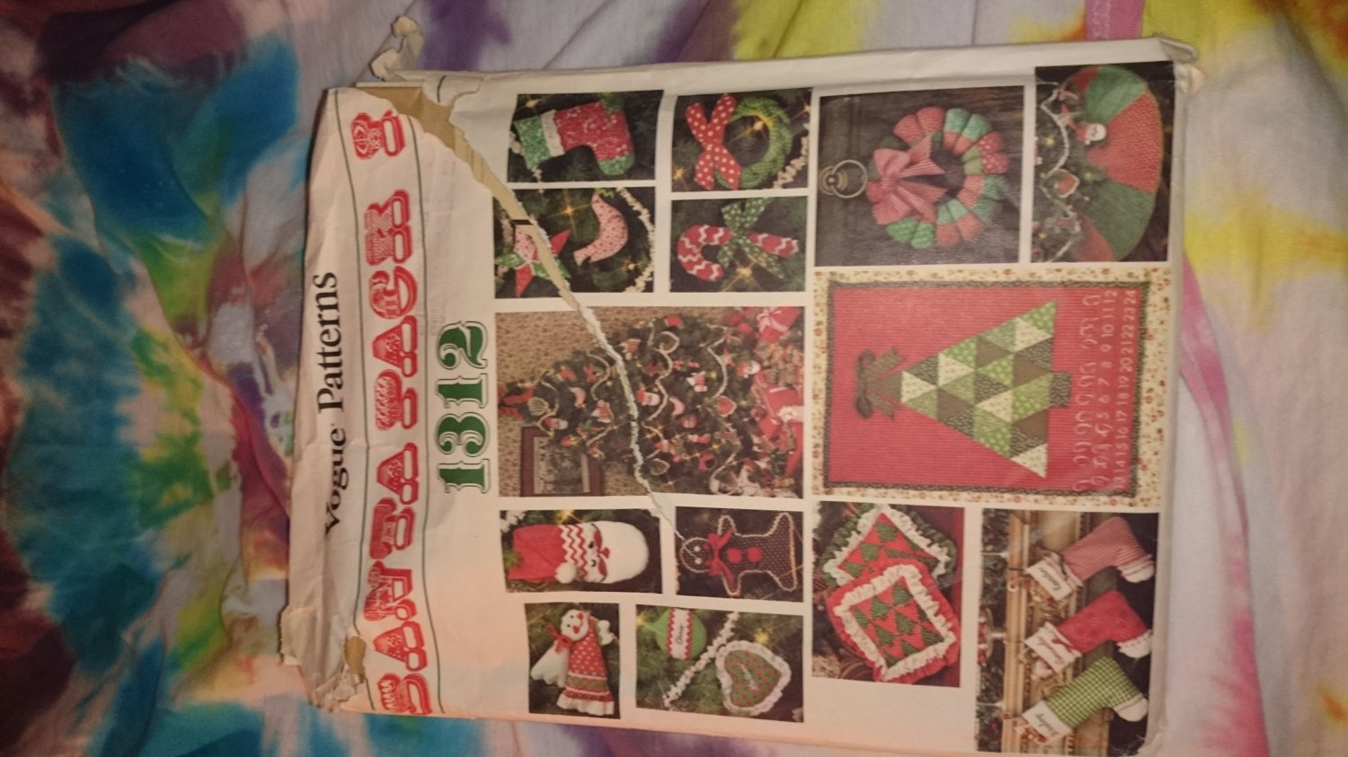 1312 Vogue Craft Christmas Santa Pack