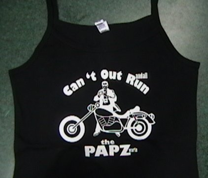 Tank-Top (Can't Out Run The PAPZ)