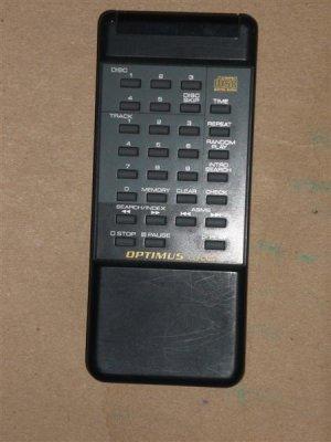 Optimus CD-6120 CD Player Remote