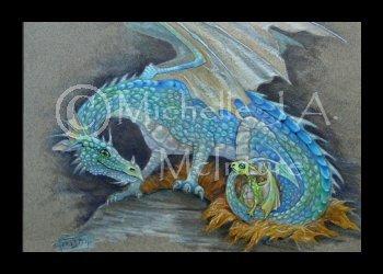 ACEO Fantasy Art Print
