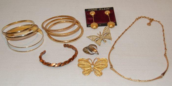 Sm. Jewelry Lot of  Anne Klein, Trifari, Napier, Sarah Coventry