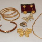 Sm. Jewelry Lot of  Anne Klein, Trifari, Napier, Sarah Coventry