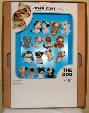 McDonald's 2005 The Cats & Dogs Happy Meal P.O.P. Kit  w/ Big Mac House Of Blues Posters