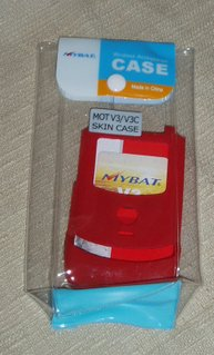 Motorola Razr Cell Phone Cover / Case - RED