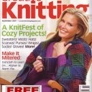 Creative Knitting - November 2007 -- HALF OFF COVER + FREE SHIPPING