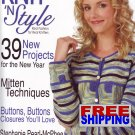 Knit N' Style - Issue 153 - February 2008 -- HALF OFF COVER + FREE SHIPPING