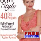 Knit N' Style - Issue 154 - April 2008 -- HALF OFF COVER + FREE SHIPPING