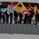Makeup Brush Roll Unique Edgy Design XL Size ~16 Slots