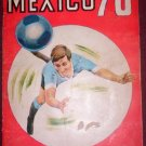SOCCER WORLD CUP MEXICO 1970  STICKER ALBUM