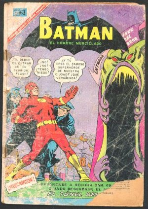 BATMAN # 387 Spanish Mexican Comic 1967 NOVARO