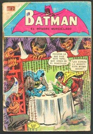 BATMAN # 238 Spanish Mexican Comics 1962 NOVARO