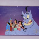 DISNEY Lithograph Collectible ALADDIN 1995