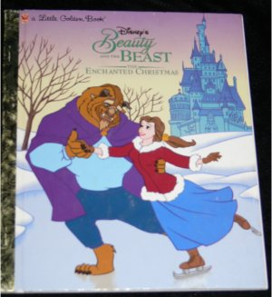 Little Golden Book BEAUTY & the BEAST The Enchanted Christmas