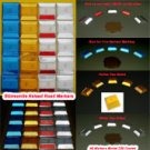 YELLOW Reflector PLUS double stick adhesive butyl pad