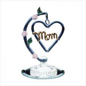 "DANGLING ""MOM"" HEART"