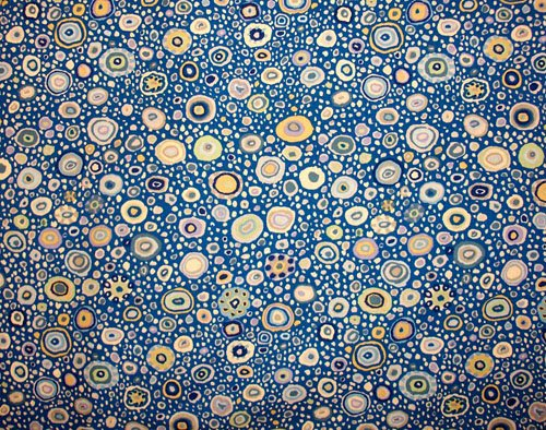 Kaffe Fassett Roman Glass Blue White Fabric