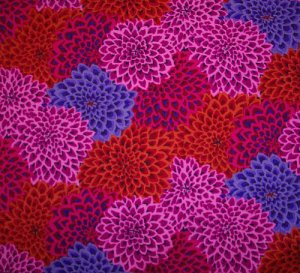 Kaffe Fasset Dahlia Blooms Lush Fabric