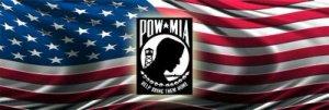 POW/MIA  American flag