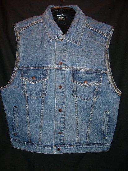Denim Motorcycle Vest