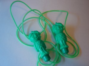 Little Green Sprout jump rope Green Giant vintage promotional advertising collectible mint condition