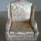 salon wing chair Petite Princess Ideal Toy Corp Fantasy Furniture vintage doll house miniature