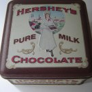 Hershey's Chocolate Vintage Edition #2 collectible tin square with lid excellent