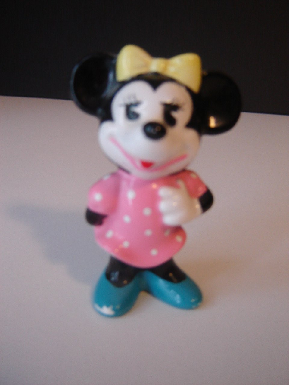 Minnie Mouse collectible figurine Walt Disney Productions made in Japan older very good condition
